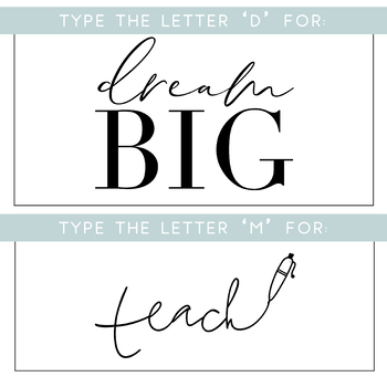 Teaching Things - A Doodle Quotes Font [KA FONTS]