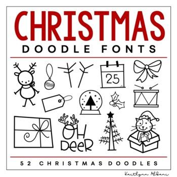 KA Fonts - Christmas Doodle Font