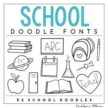 KA Fonts - Doodle Fonts Growing Bundle