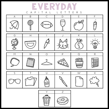 KA Fonts - Everyday Doodles