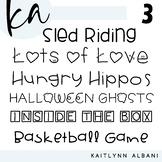 KA Fonts - Font Bundle 3