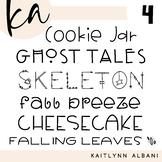KA Fonts - Font Bundle 4