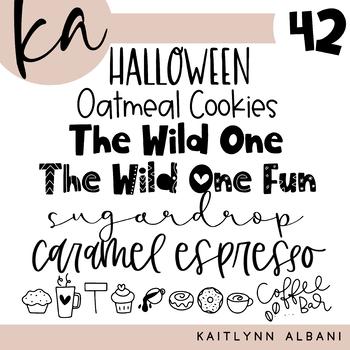 KA Fonts | Font Bundle - Set 42