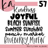 KA Fonts | Font Bundle - Set 57