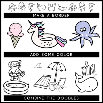 KA Fonts - Summer Doodles
