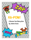 KA-POW!  A Nonsense Word Fluency Game