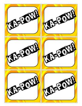"""KA-POW! (A """"What Rhymes with..."""" Rhyming Game)"""