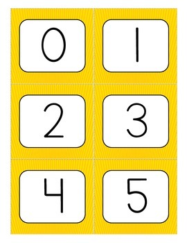 """KA-POW! (A """"What's the Missing Number?"""" Game)"""