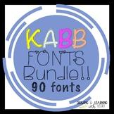 KABB FONTS Bundle!!