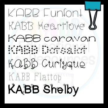 KABB FONTS Vol.2