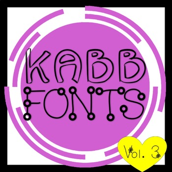 KABB Fonts Bundle Vol.3