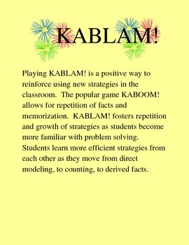 KABLAM! More Adding and Subtracting Fractions with Unlike Denominators