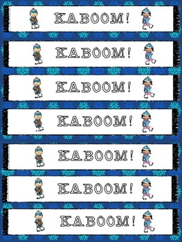 KABOOM! Adding and Subtracting Fractions