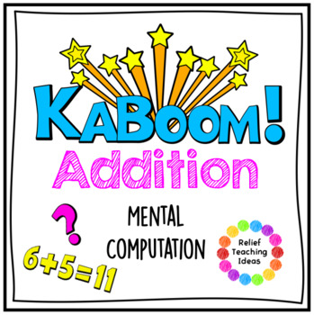 KABOOM! Addition Revision Card Game
