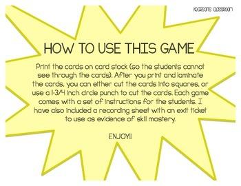 KABOOM Game - Mental Math 1-10