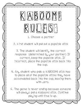 KABOOM! Game rules