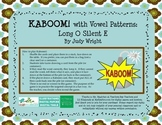 KABOOM! Phonics Game to Practice Long O Silent E Words