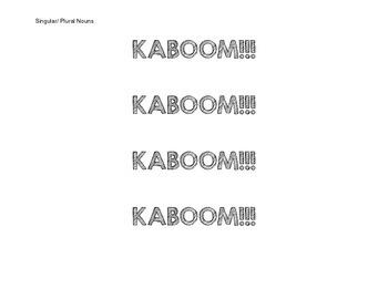 KABOOM!!! Language Standard Review