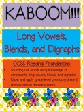 KABOOM:  Long Vowel Patterns
