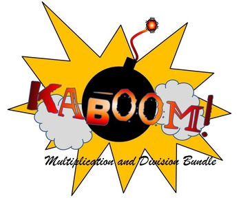 KABOOM! Multiplication and Division Bundle