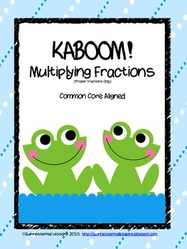 KABOOM! Multiplying Fractions