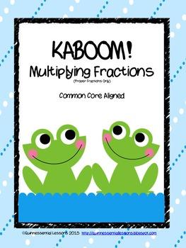 KABOOM! Multiplying Fractions