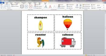 KABOOM - OO Words - Phonics Board Game