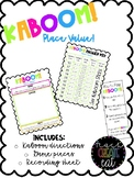 KABOOM! - Place Value Review Game *FREEBIE!*