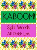KABOOM: Sight Word Fluency Practice