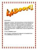 KABOOM! multiplication word problem game