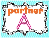 KAGAN Posters - Letter Partners