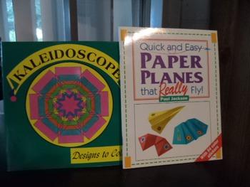 KALEIDOSCOPE    PAPERPLANES        (SET of 2)