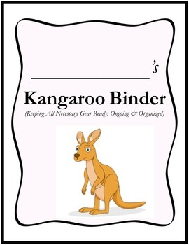 KANGAROO Binder Cover