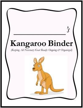 KANGAROO Binder Cover