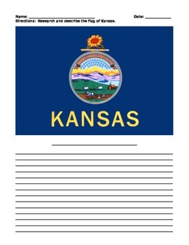 KANSAS FACTS UNIT (GRADES 3 - 5)