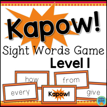 Sight Words Game Grade 1