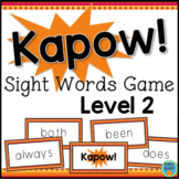 Sight Words Game Level 2 - 1st to 2nd Grade