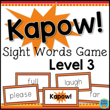 Sight Words Game Grade 3