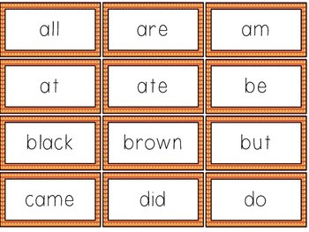 Sight Words Game for Small Groups