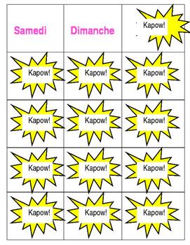 KAPOW - French
