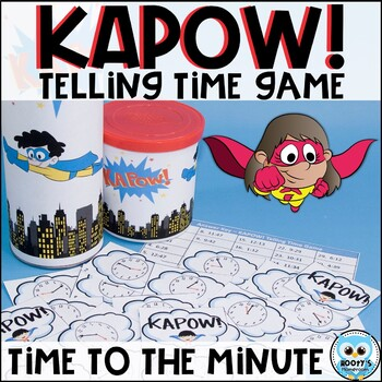 KAPOW! Time to the Minute