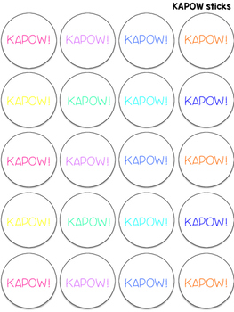 KAPOW! for Multiple Meaning Words