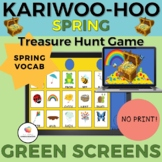 KARIWOO-HOO GREEN SCREEN GAME: SPRING VOCABULARY/Distance