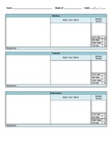 K.A.S.E. Method Daily Template