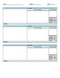 K.A.S.E. Method Daily Template (Editable)