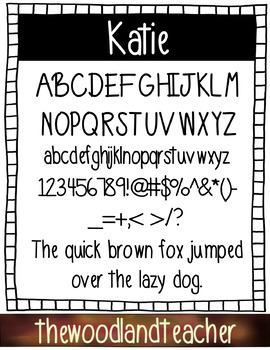 KATIE-FREE FONT (For Commercial Use)