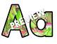 KAWAII CACTUS Banner and Alphabets Back to School Classroom Decor