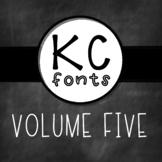 KC FONTS : Volume Five