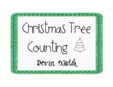 K.CC.3 & 4 Christmas Tree Counting