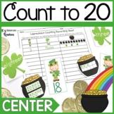 K.CC.3 Leprechaun Counting 0-20